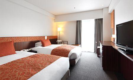 Номер повышенной комфортности с двумя кроватями - Kyoto Tokyu Hotel - Kyoto