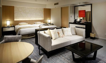 Luxury Suite Hollywood Twin Room - Kyoto Tokyu Hotel - Kyoto