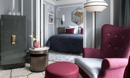 Suite mit zwei Schlafzimmern - Nolinski Paris - Paris