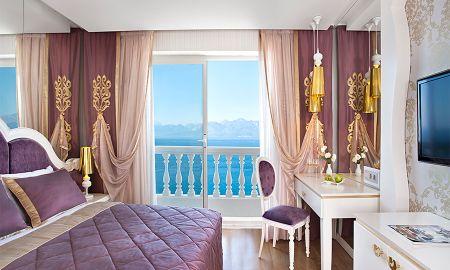 Deluxe Zimmer Meerblick - La Boutique Antalya - Antalya