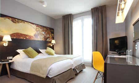 Habitación Twin Estándar - Little Palace Hotel - Paris