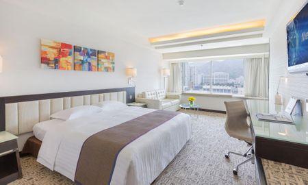 Quarto Duplo Deluxe - Regal Riverside Hotel - Hong Kong