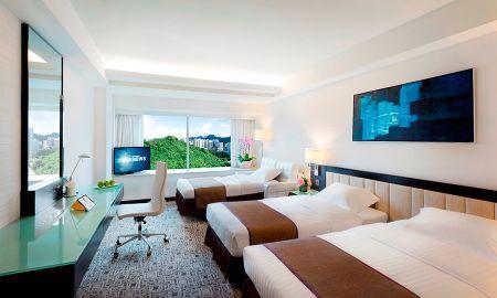 Quarto Triplo - Regal Riverside Hotel - Hong Kong