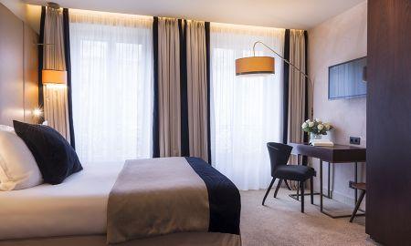 Chambre Double Classique - Hôtel La Bourdonnais - Paris
