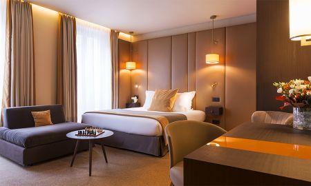 Deluxe Dreibettzimmer - Hôtel La Bourdonnais - Paris
