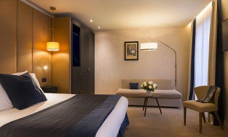 Suite Junior - Hôtel La Bourdonnais - Parigi