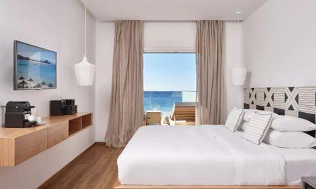 Полулюкс двухместный - вид на море - Mykonos Kosmoplaz Beach Resort Hotel - Mykonos