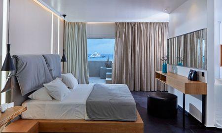 Deluxe Suite Sea View - Mykonos Kosmoplaz Beach Resort Hotel - Mykonos