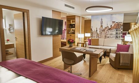 Quarto Grand Deluxe - Hotel Vier Jahreszeiten Kempinski - Munique