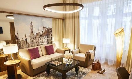 Suite Superior - Hotel Vier Jahreszeiten Kempinski - Munique