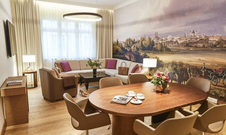 Suite Executivo - Hotel Vier Jahreszeiten Kempinski - Munique