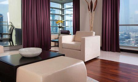 Suite Jumeirah Dos Dormitorios - Pullman Dubai Jumeirah Lakes Towers - Hotel & Residence - Dubai