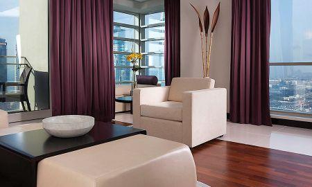 Suite Jumeirah deux chambres - Pullman Dubai Jumeirah Lakes Towers Hotel & Residence - Dubai