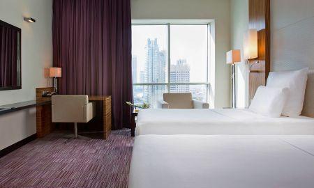 Chambre Supérieure Twin - Pullman Dubai Jumeirah Lakes Towers Hotel & Residence - Dubai