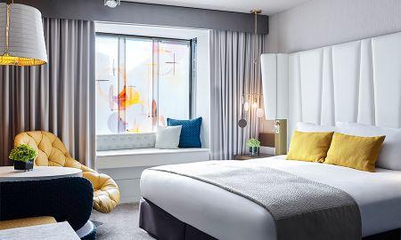 Chambre Luxury avec Vue Patio ou Ville - Sofitel Munich Bayerpost - Munich