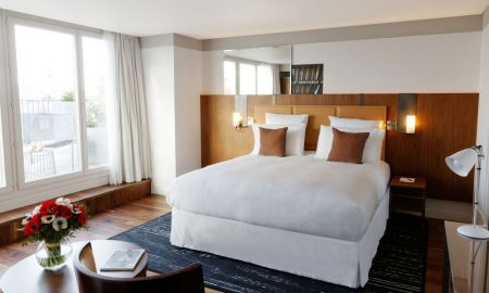 Suite Junior - 1 Lit King Size - Hôtel Paris Bastille Boutet - MGallery By Sofitel - Paris