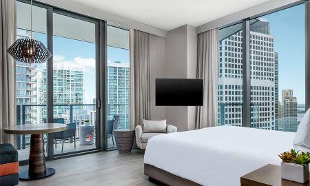 Chambre Baie King - EAST, Miami - Miami