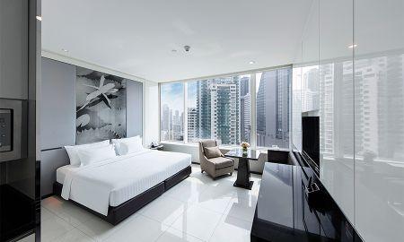 Quarto Deluxe Premium - Grande Centre Point Hotel Terminal 21 - Bangkok