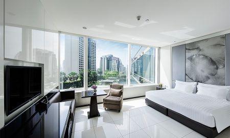 Quarto Grand Deluxe - Grande Centre Point Hotel Terminal 21 - Bangkok