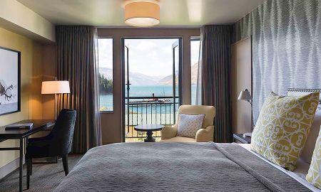 Chambre St Moritz avec Balcon et Vue Lac - Hotel St Moritz Queenstown - MGallery By Sofitel - Queenstown