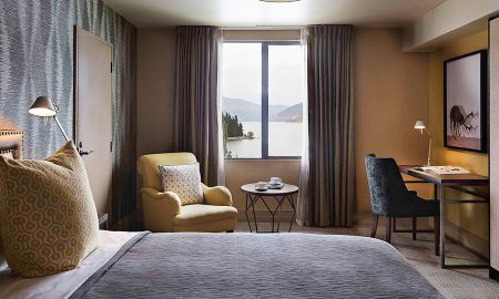Chambre St Moritz avec Vue Lac - Hotel St Moritz Queenstown - MGallery By Sofitel - Queenstown