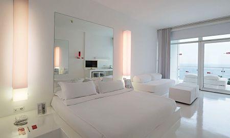 Deluxe Single Room - Sea View - Hotel SU & Aqualand Antalya - Antalya
