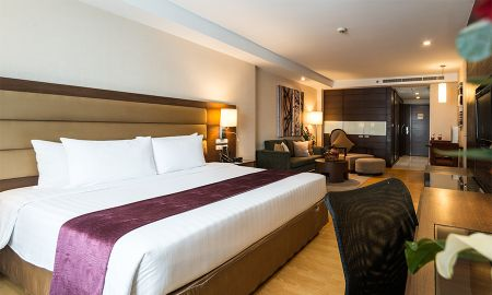 Studio Doble Deluxe - Legacy Suites Hotel Sukhumvit - Bangkok