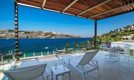 Номер Делюкс с видом на море - Mivara Luxury Resort & Spa - Bodrum