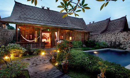Einem Schlafzimmer Villa met Privat-Pool - Keraton Jimbaran Resort - Bali