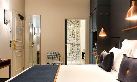 Chambre Individuelle - Hotel Square Louvois - Paris