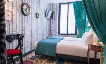 Habitación Clásica Twin - Hotel Sacha - Paris