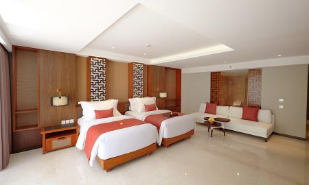 Junior Double or Twin Suite - The Bandha Hotel & Suites - Bali