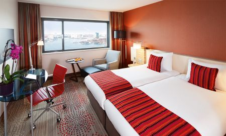 Executive King Room - City View - Mövenpick Hotel Amsterdam City Centre - Amsterdam