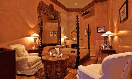Honeymoon Suite Guépard - Riad Noir D'Ivoire - Marrakech