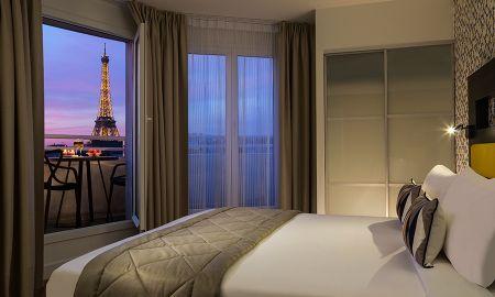 Studio Vue Tour Eiffel - Citadines Tour Eiffel Paris - Paris