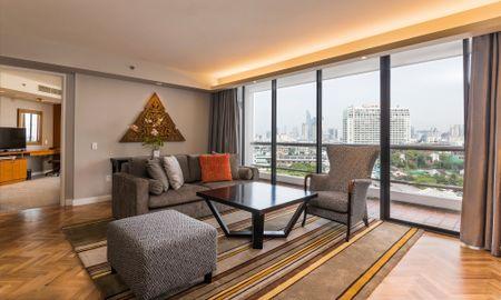 Suite Deluxe Tres Dormitorios - Chatrium Residence Sathon Bangkok - Bangkok