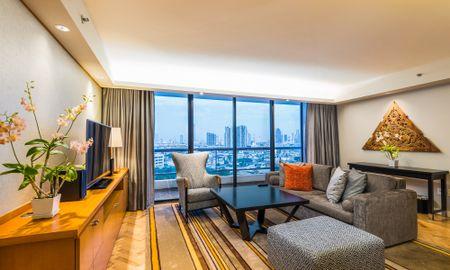 Grand Deluxe Three-Bedroom Suite - Chatrium Residence Sathon Bangkok - Bangkok