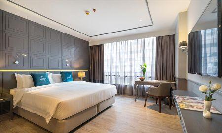 Habitación Deluxe - Well Hotel Bangkok - Bangkok