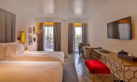 Chambre Deluxe Double - 2Ciels Boutique Hôtel - Marrakech
