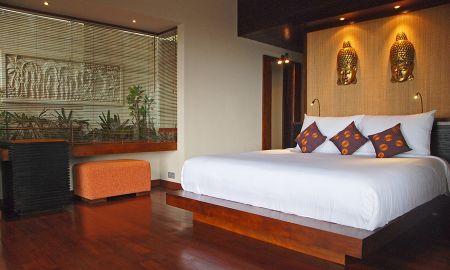 Deluxe Villa mit einem Schlafzimmer - Privat-Pool - The Griya Villas And Spa - Bali