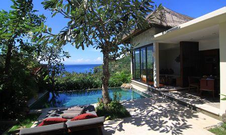 Einem Schlafzimmer Villa - Privat-Pool - The Griya Villas And Spa - Bali