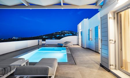 Deluxe Villa with Private Pool and Jacuzzi - De Sol Hotel & Spa - Santorini