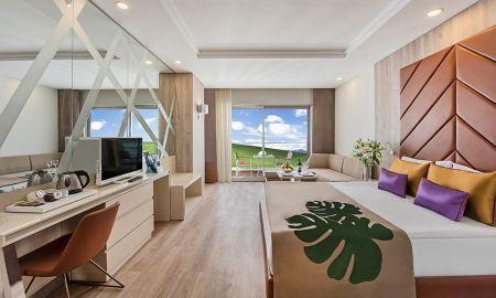 Be Trendy Zimmer - Landblick - Delphin BE Grand Resort - Antalya