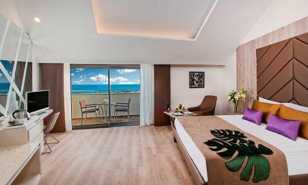 Be Trendy Zimmer - Partial Meerblick - Delphin BE Grand Resort - Antalya