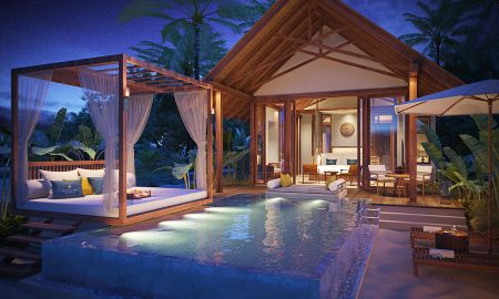 Villa Beach avec Piscine - Furaveri Island Resort & Spa - Maldives