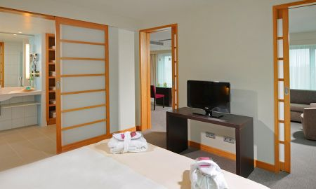 Suite Junior Queen con Sofá Cama - Novotel Berlin Am Tiergarten - Berlín