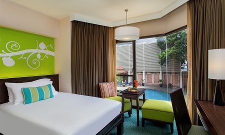 Номер Делюкс с видом на бассейн - The Bayview Hotel Pattaya - Pattaya