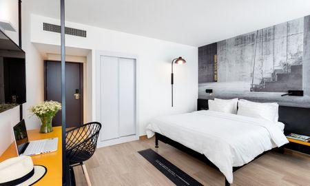 Quarto Premium Duplo com Vista Cidade - BY14 TLV Hotel - Tel Aviv