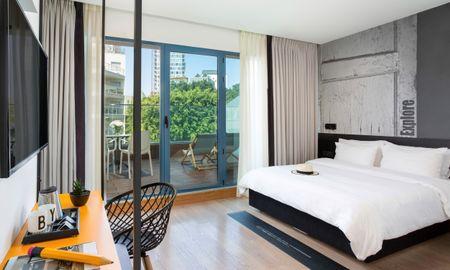 Quarto Premium Duplo com Grande Terraço - BY14 TLV Hotel - Tel Aviv