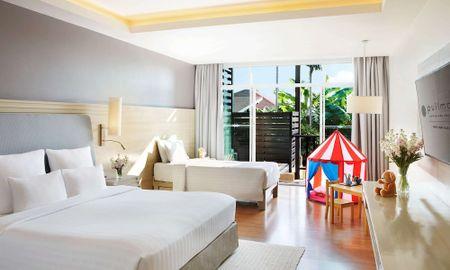 Deluxe Family Room - Sofa bed - Balcony - Pullman Phuket Panwa Beach Resort - Phuket